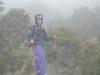 Dopo 14 ore di trekking e con il brutto tempo